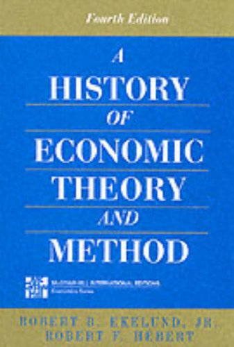 9780071142823: History of Economic Theory and Method (McGraw-Hill International Editions Series)