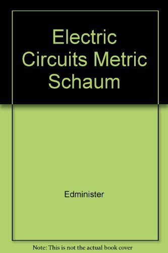 9780071142878: Electric Circuits Metric Schaum