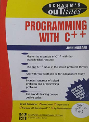 9780071143288: Programming with C++