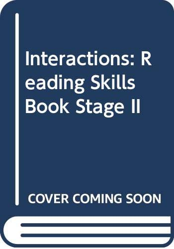 9780071143738: Interactions: Reading Skills Book Stage II