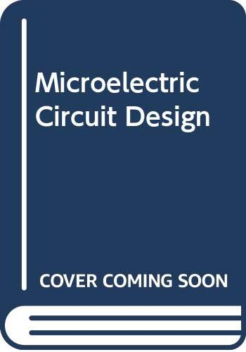 9780071143868: Microelectronic Circuit Design