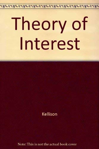 9780071144407: Theory of Interest