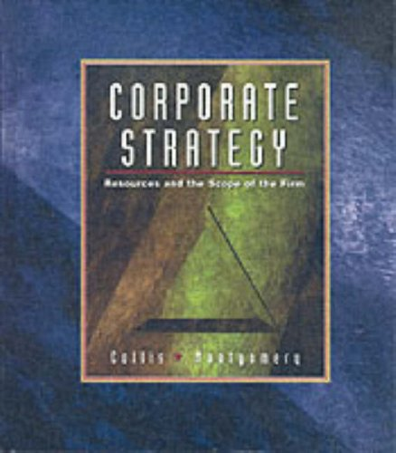 9780071144650: Corporate Strategy: Resources and the Scope of the Firm