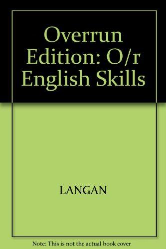 9780071144889: Overrun Edition: O/r English Skills