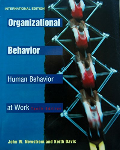 9780071145381: Organizational Behavior: Human Behavior at Work