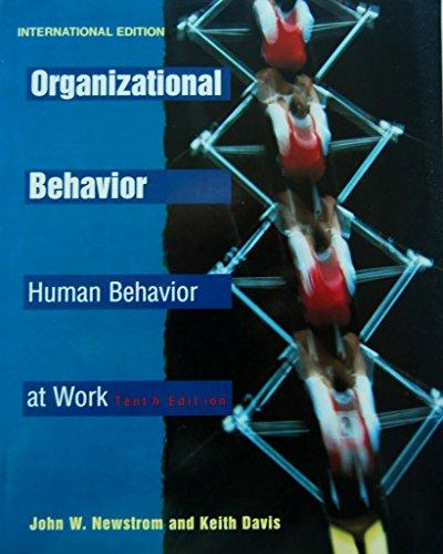 9780071145381: Organizational Behavior: Human Behavior at Work