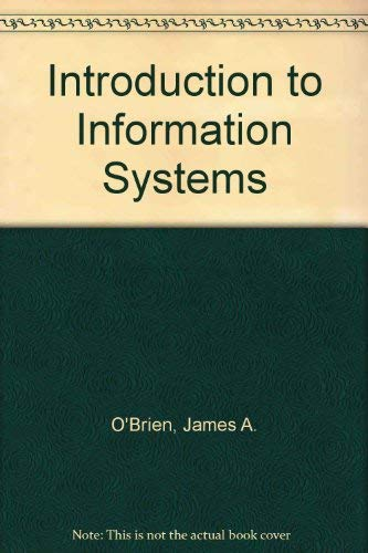 9780071145664: Introduction To Information Systems
