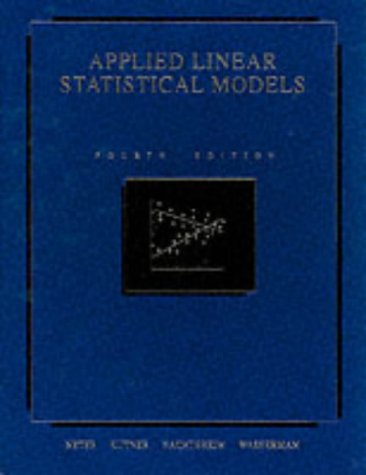 9780071145671: Applied Linear Statistical Models