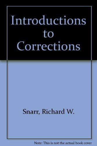 9780071146401: Introductions to Corrections