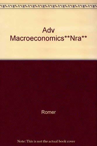 Adv Macroeconomics**Nra**: Romer