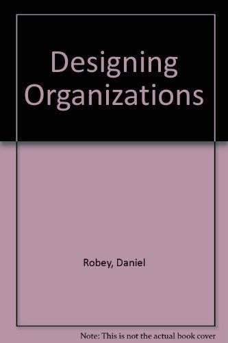 9780071146746: Designing Organizations
