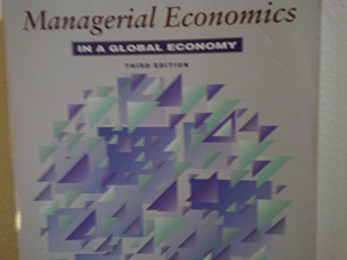9780071147149: Managerial Economics in a Global Economy