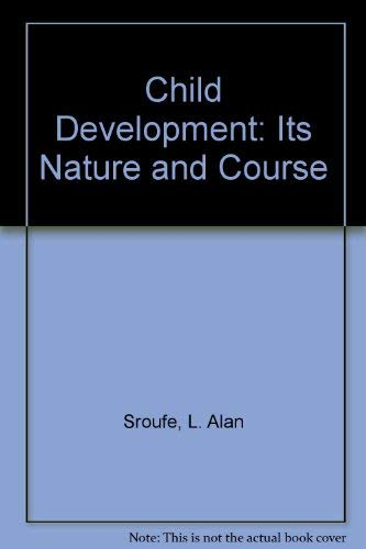 9780071147187: Child Development: Its Nature and Course