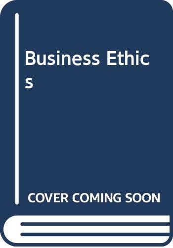 9780071147408: Business Ethics (McGraw-Hill International Editions: Management & Organization Series)