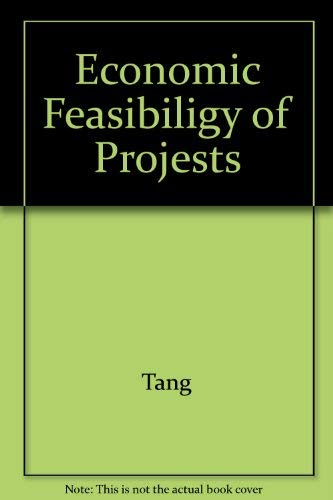 9780071147859: Economic Feasibiligy of Projests