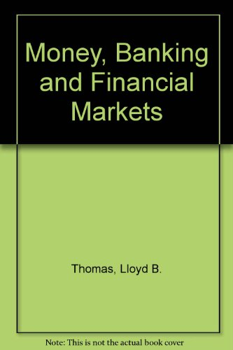 9780071147873: Money, Banking and Financial Markets