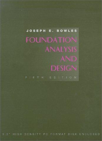 9780071148115: Foundation Analysis and Design