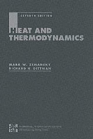 9780071148160: HEAT AND THERMODYNAMICS 7E: An Intermediate Textbook