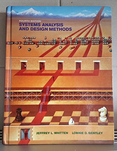 9780071148740: Systems Analysis and Design Methods
