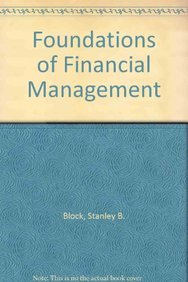 9780071148993: Foundations of Financial Management
