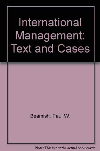 9780071149006: International Management: Text and Cases