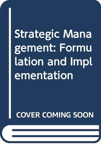 Strategic Management: Lloyd L. Byars,