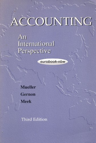9780071149693: Accounting: an International Perspective