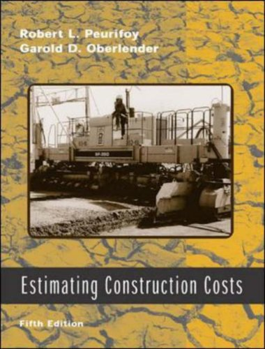 9780071150842: Estimating Construction Costs