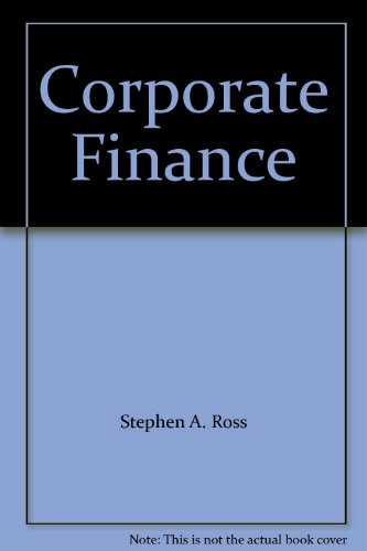 9780071150880: Corporate Finance