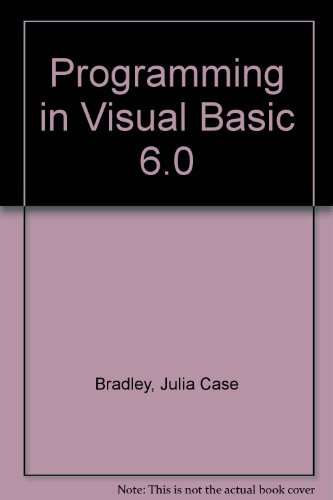 9780071150927: Programming in Visual Basic 6.0