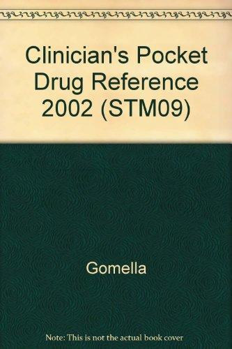 9780071150934: Clinician's Pocket Drug Reference 2002 (STM09)