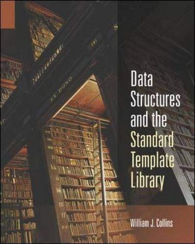 9780071150972: Data Structures and the Standard Template Library