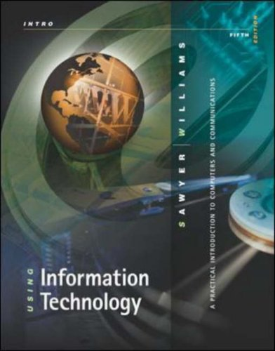 9780071151047: Using Information Technology: Introductory Edition: A Practical Introduction to Computers and Communication
