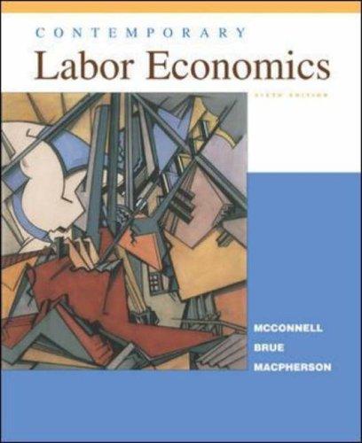 9780071151085: Contemporary Labor Economics