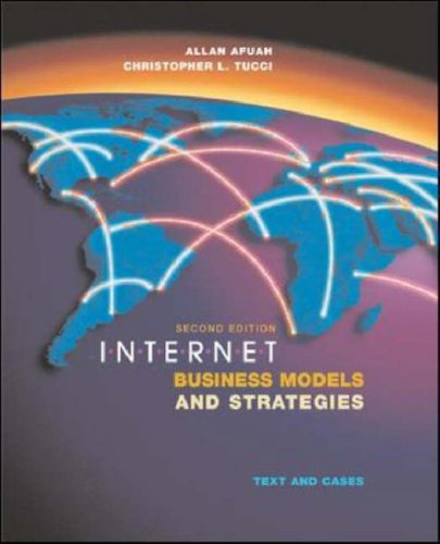 9780071151238: Internet Business Models and Strategies: Text and Cases