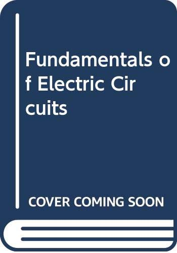 9780071151252: Fundamentals of Electric Circuits