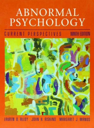 9780071151276: Abnormal Psychology