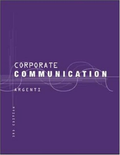 9780071151368: Corporate Communication