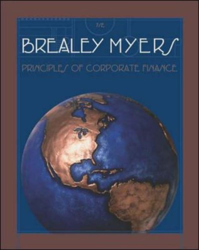 9780071151450: Principles of Corporate Finance (McGraw-Hill/Irwin Series in Finance, Insurance & Real Estate)