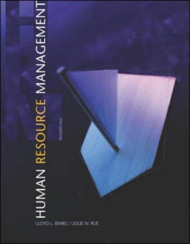 9780071151474: Human Resource Management