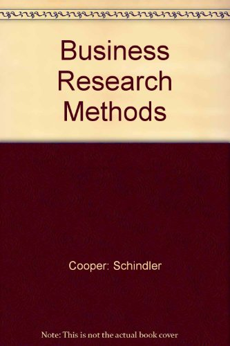 9780071151603: Business Research Methods