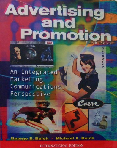 9780071152075: Introduction to Advertising and Promotion: An Integrated Marketing Communications Perspective (The Irwin/McGraw-Hill series in marketing)