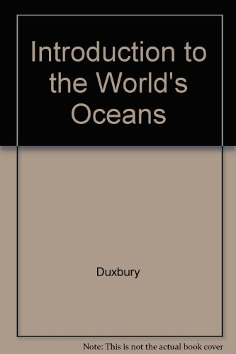 9780071152303: Introduction to the World's Oceans