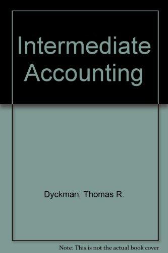 9780071152372: Intermediate Accounting (The Irwin/McGraw-Hill series in intermediate accounting and financial reporting)