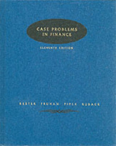9780071152747: Case Problems in Finance