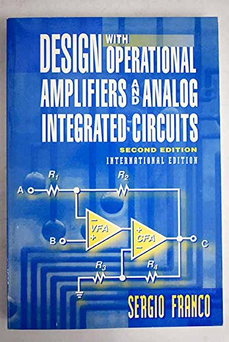 9780071152808: Design with Operational Amplifiers and Analog Integrated Circuits