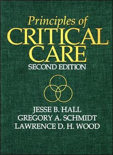 9780071153089: Principles of Critical Care (International Student Edition)