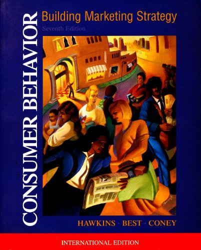 9780071153249: Consumer Behavior (McGraw-Hill International Editions)