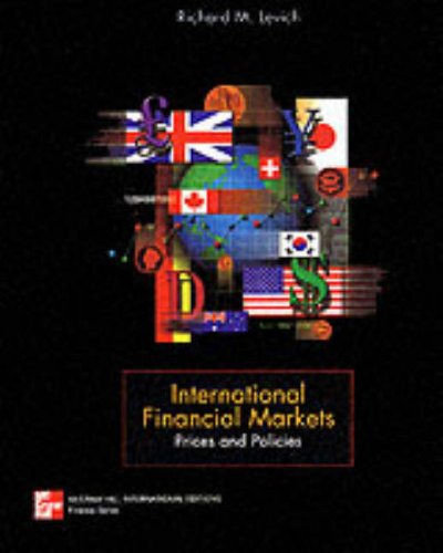 9780071153645: International Financial Markets: Prices and Policies (McGraw-Hill International Editions Series)
