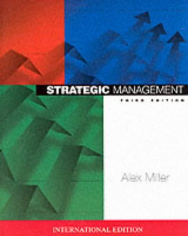 9780071154017: Strategic Management (McGraw-Hill International Editions Series)